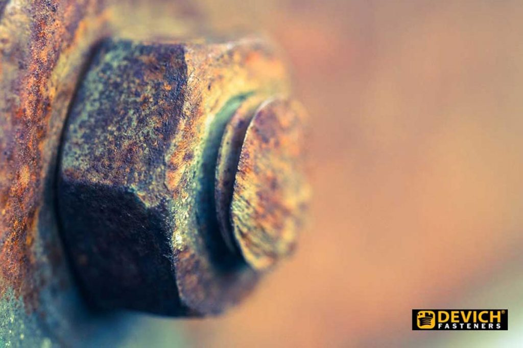 Devich-Rusted bolt